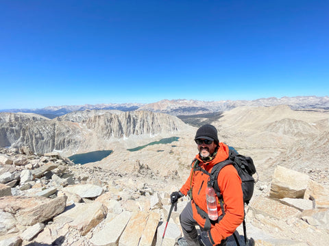 West Sierras from top the 99 switchbacks