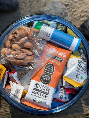Super pop and other snacks for camping
