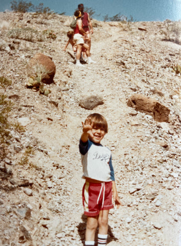 Having fun growing up on the Wildwood Park trail in Thousand Oaks, CA.