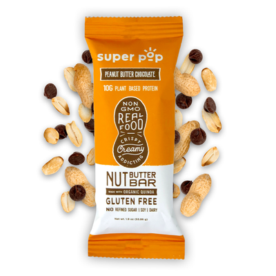 Peanut Butter Chocolate- 12 pack<br /> Real food, non-gmo snacks.