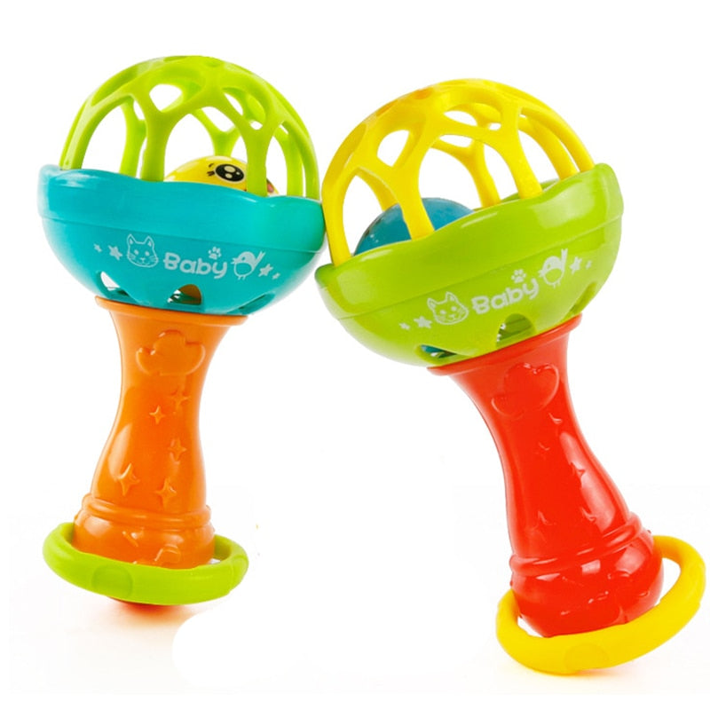 Baby Girl Music Hand Bell Hand Rattles Toy