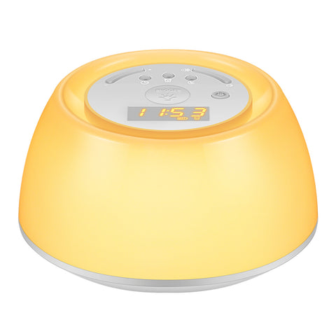 Wake-Up Light Beside Lamp Alarm Clock Sunrise Simulation