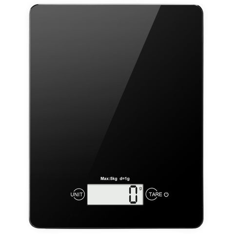 Digital Multi functional Food Scale with Touch Sensitive Screen, Auto-off (Black)