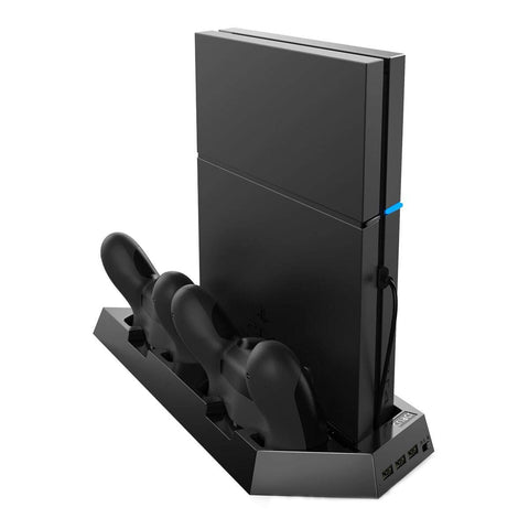 Vertical Stand for PS4 Slim with Cooling Fans
