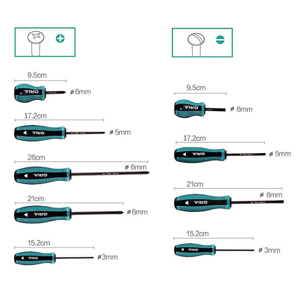 ORIA OA- S2 Screwdriver Set