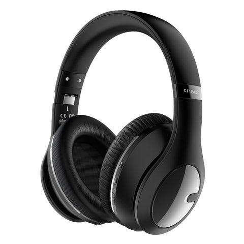 Bluetooth Wireless Foldable Headsets - Black