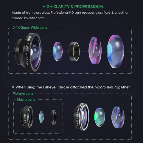 AMIR 3-in-1 HD Phone Lens