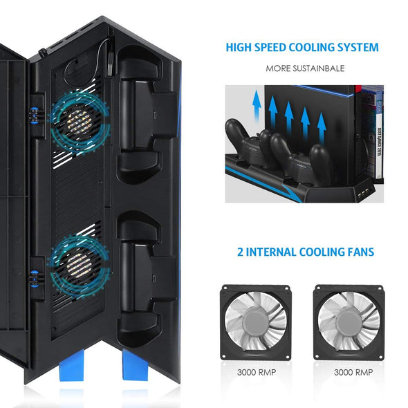 PS4 Vertical Stand Cooling Fan