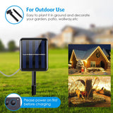 Solar Powered String Lights (Warm White)