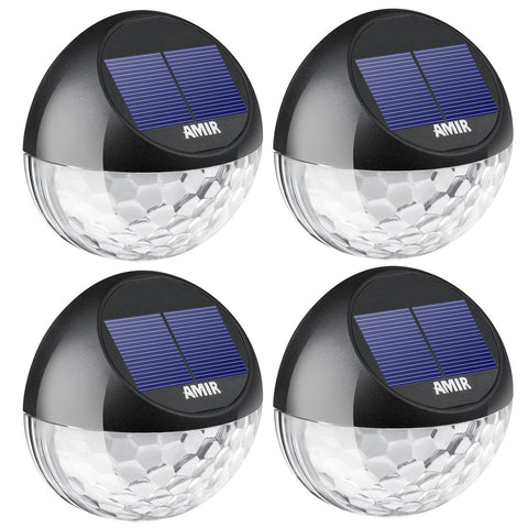 Solar Fence Lights Outdoor