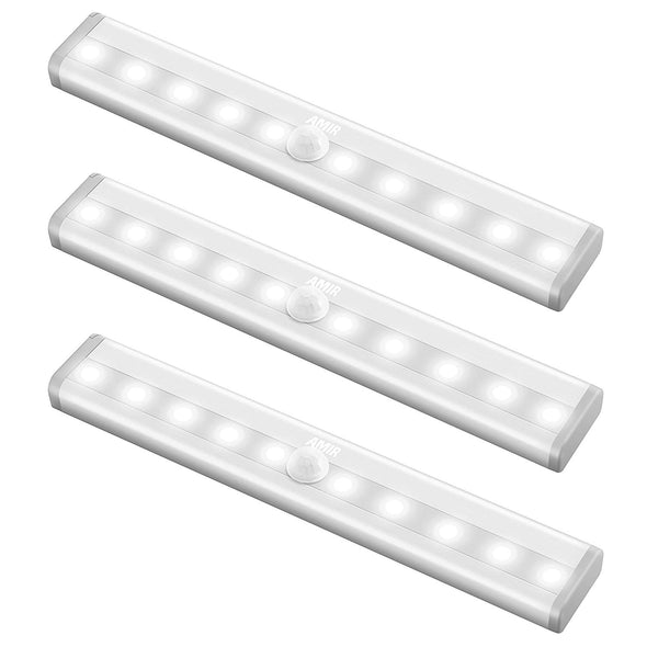 AMIR Motion Sensor Lights (3 Pack)