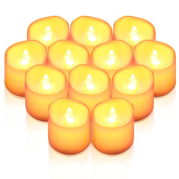 LED Flameless Candles 12 PCS | AMIR