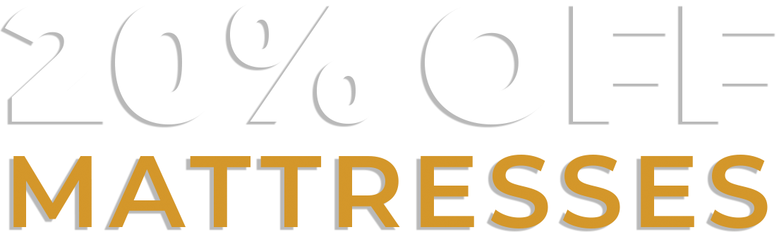20 percent off mattresses