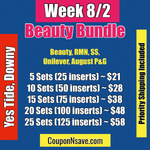 Beauty Bundle Week 8/2 SS, RMN, Unilever Tide and Downy