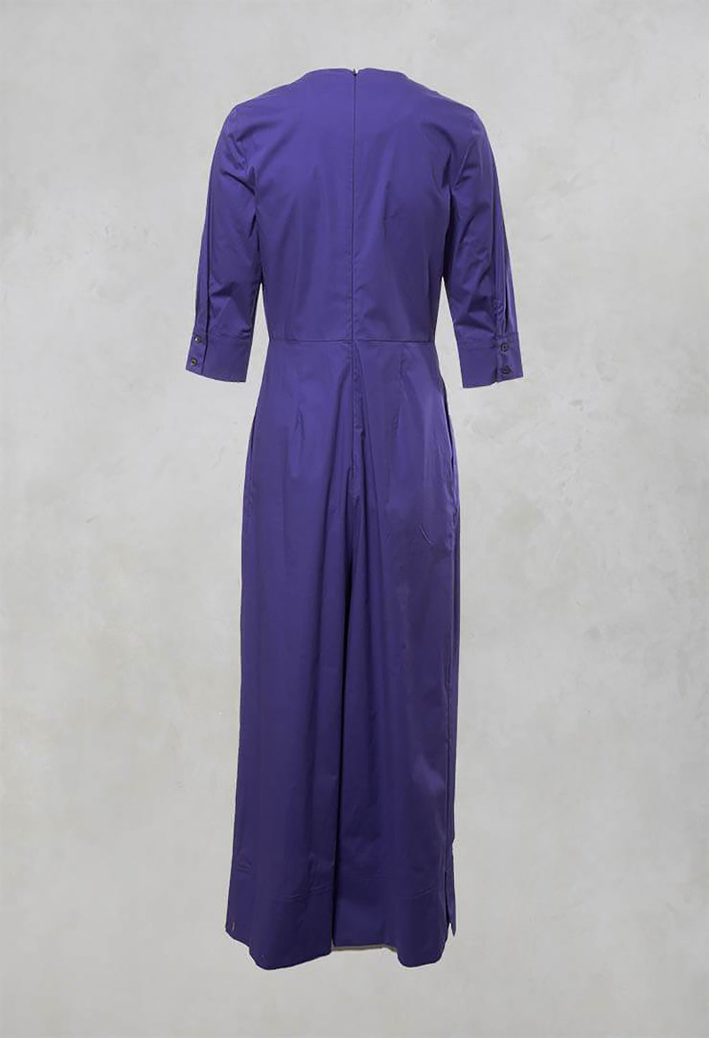 V Neck Utility Boilersuit in Purple