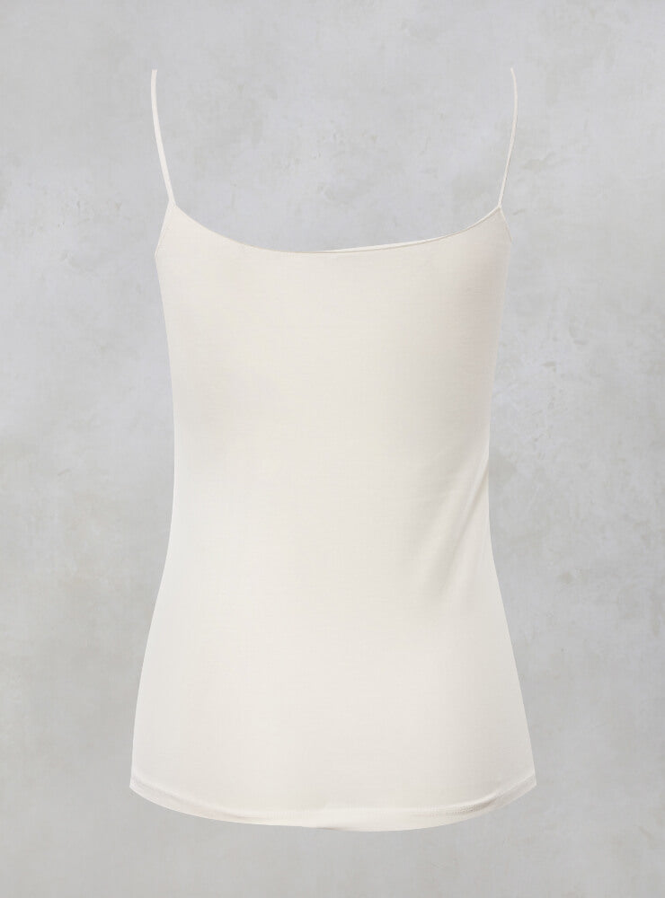 Strappy Cami Top in Cream
