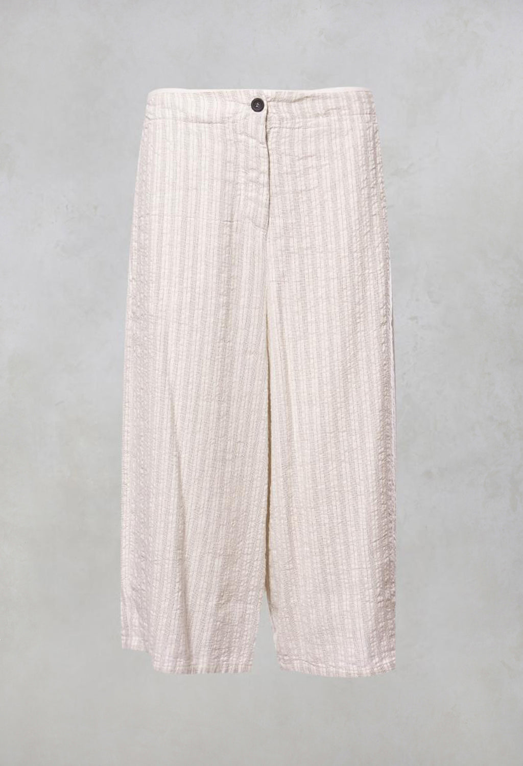 Wide Leg Culottes in White