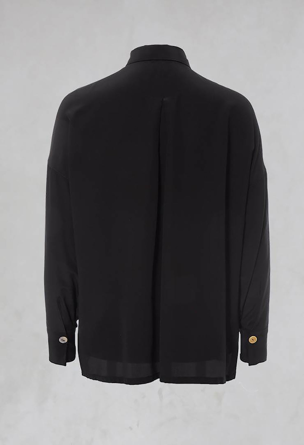 Silk Shirt in Nero