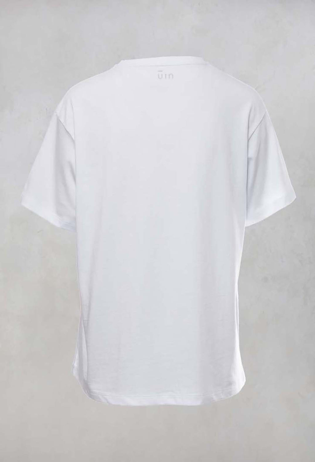 Applique T Shirt in White
