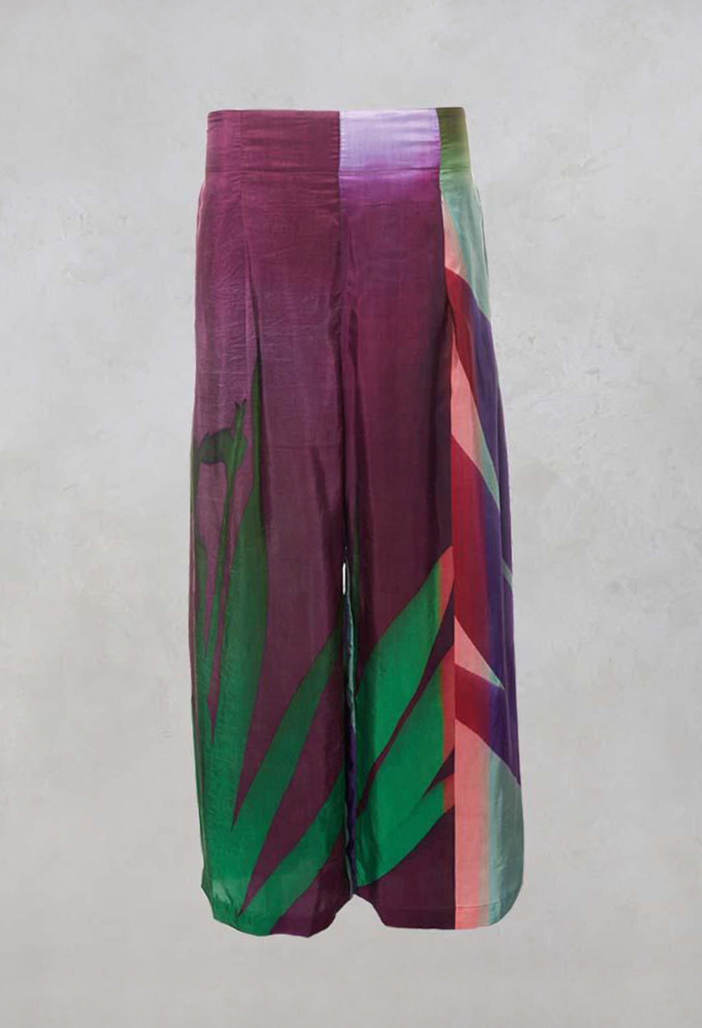 Trousers Wide Pants White Desert in Multicolour