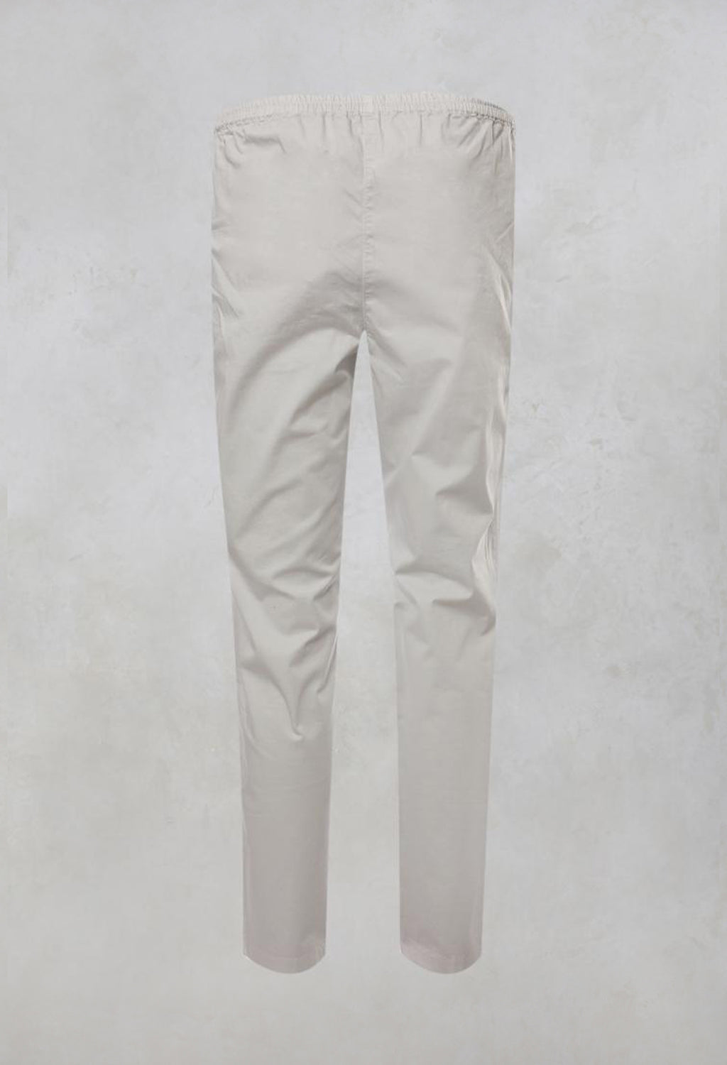 Stretchy Trousers with Pockets in Silver