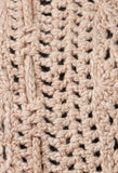 Cache Col Knitted Collar in Beige Rose