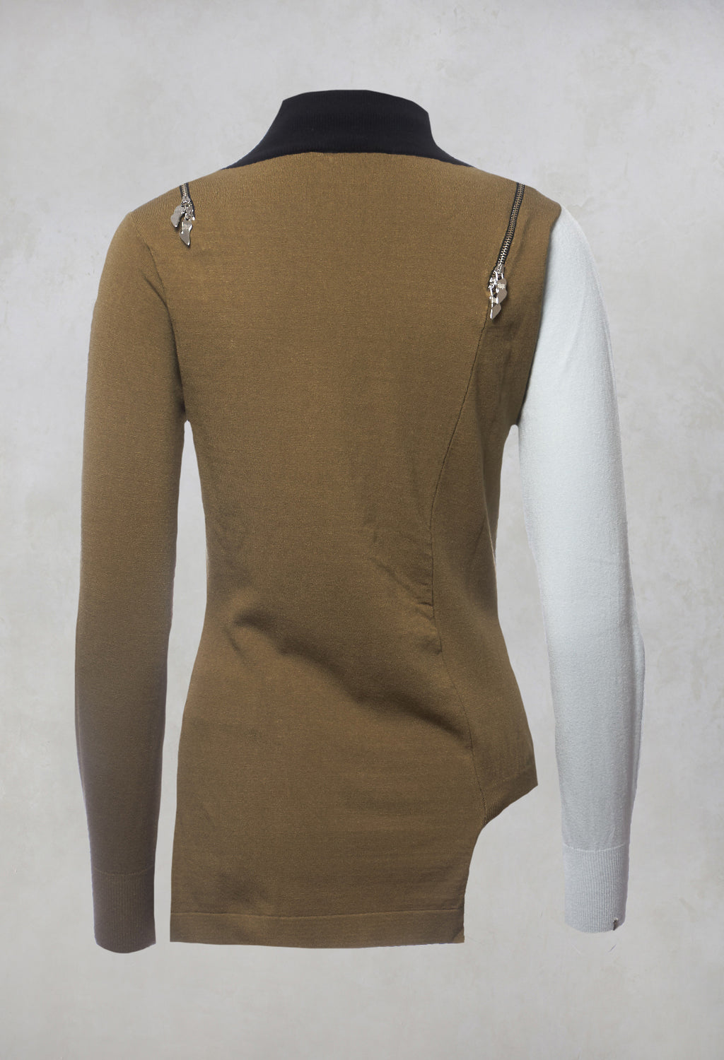 Colour Block Jumper in Safety
