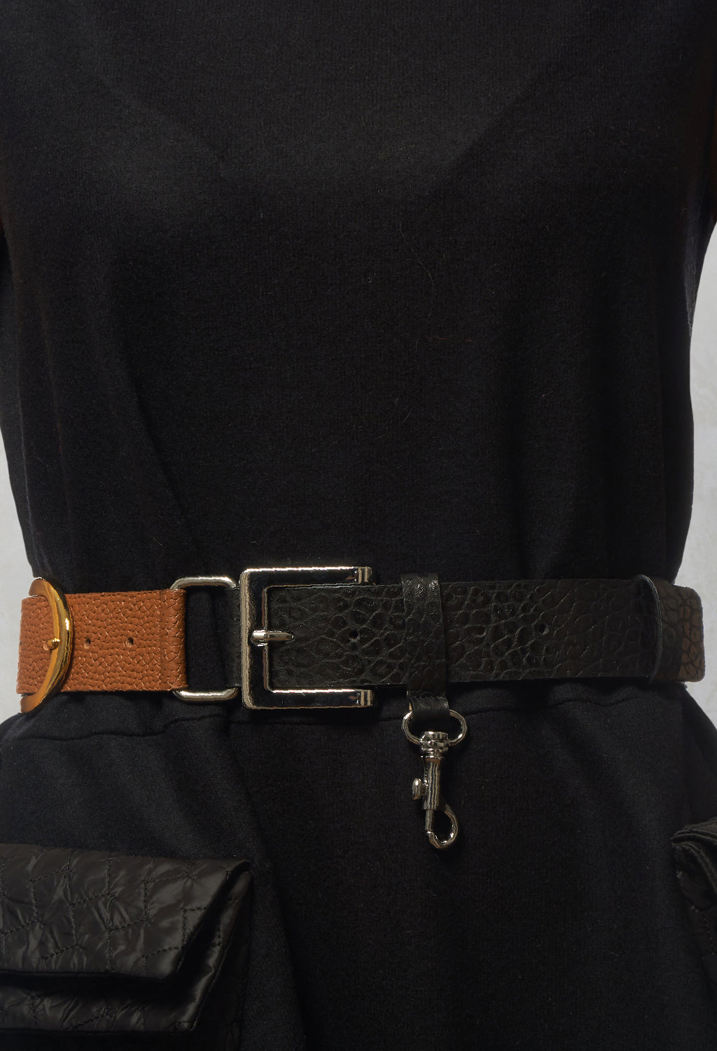 Two Tone Belt in Couple