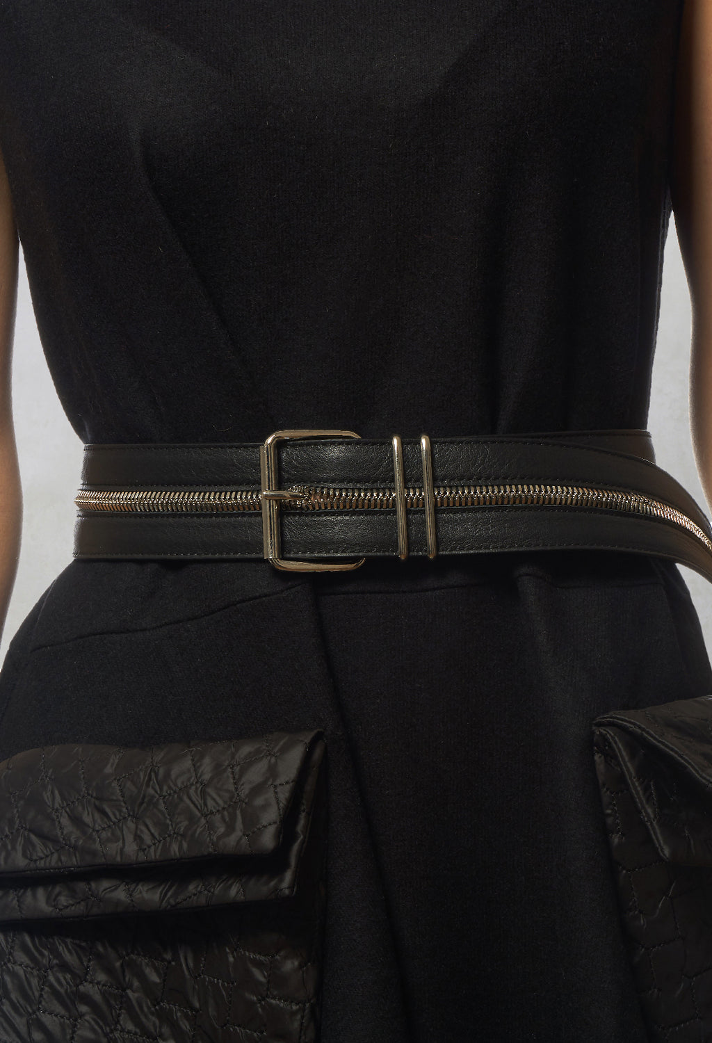 Zipped Belt in Intrigue