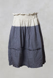 Checked Skirt in Original