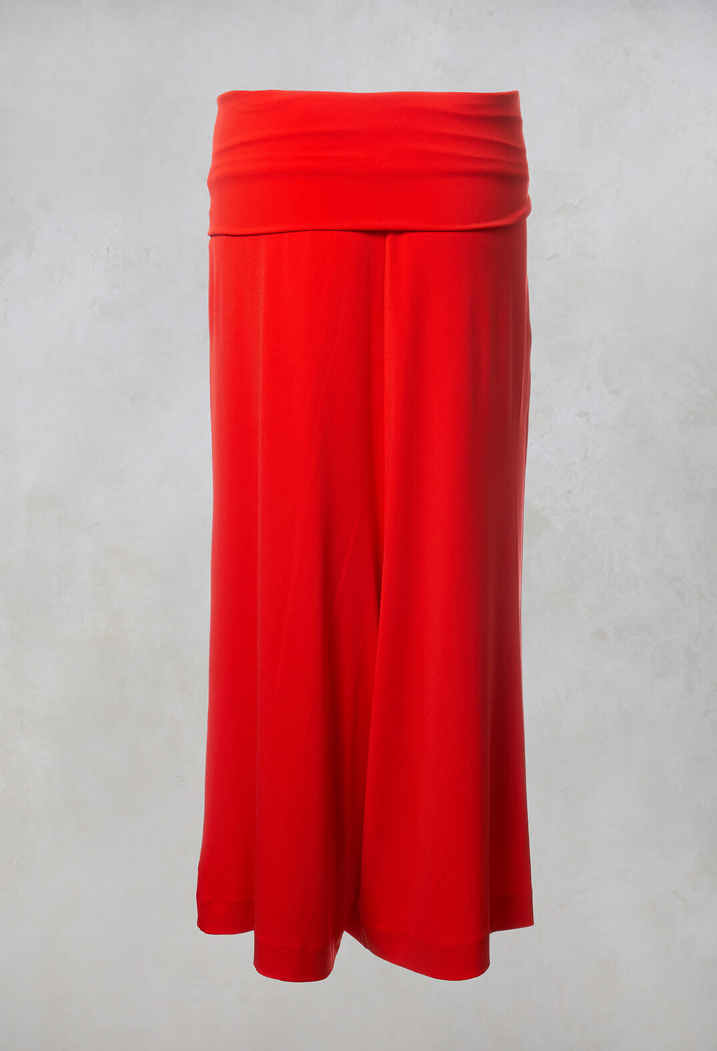 Drop Crotch Culottes in Red