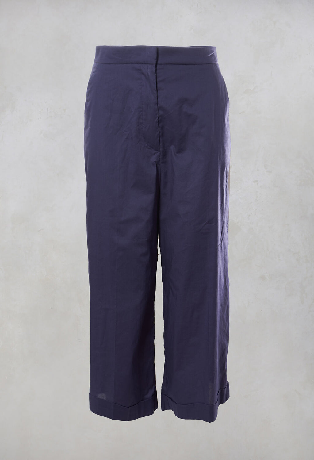 Wide Leg Culottes in Nebelung Purple