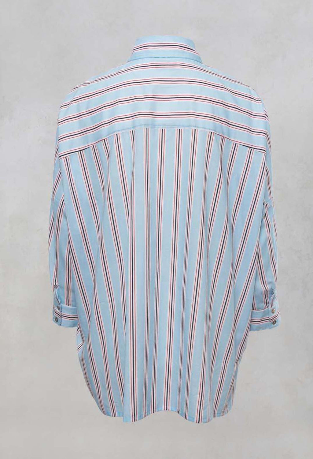 Striped Shirt in Atoll
