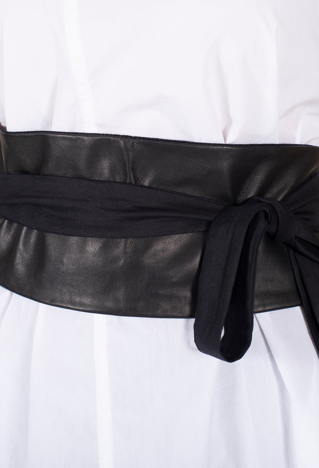 Tie Belt in Nero