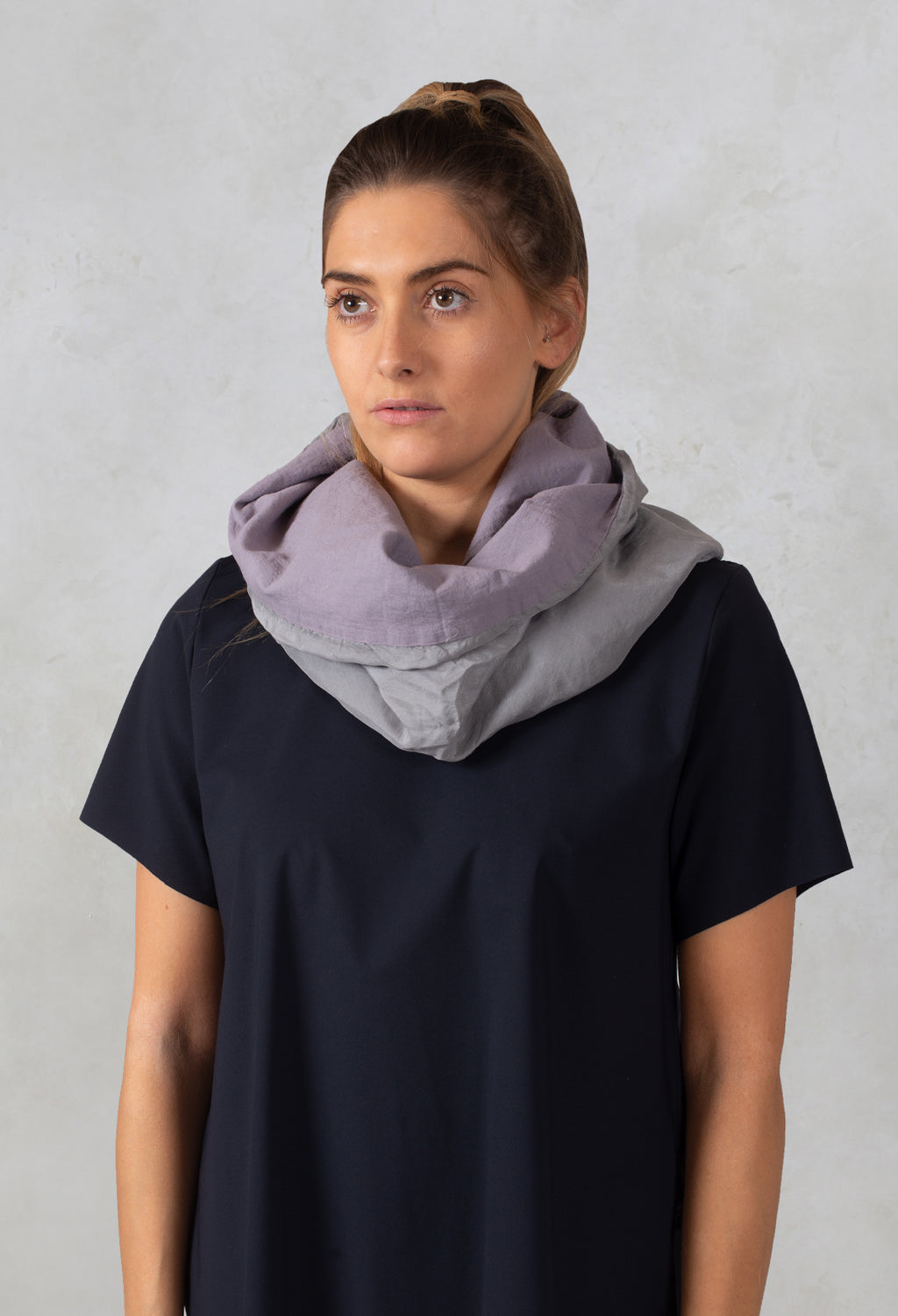 Silk Snood in Helmut