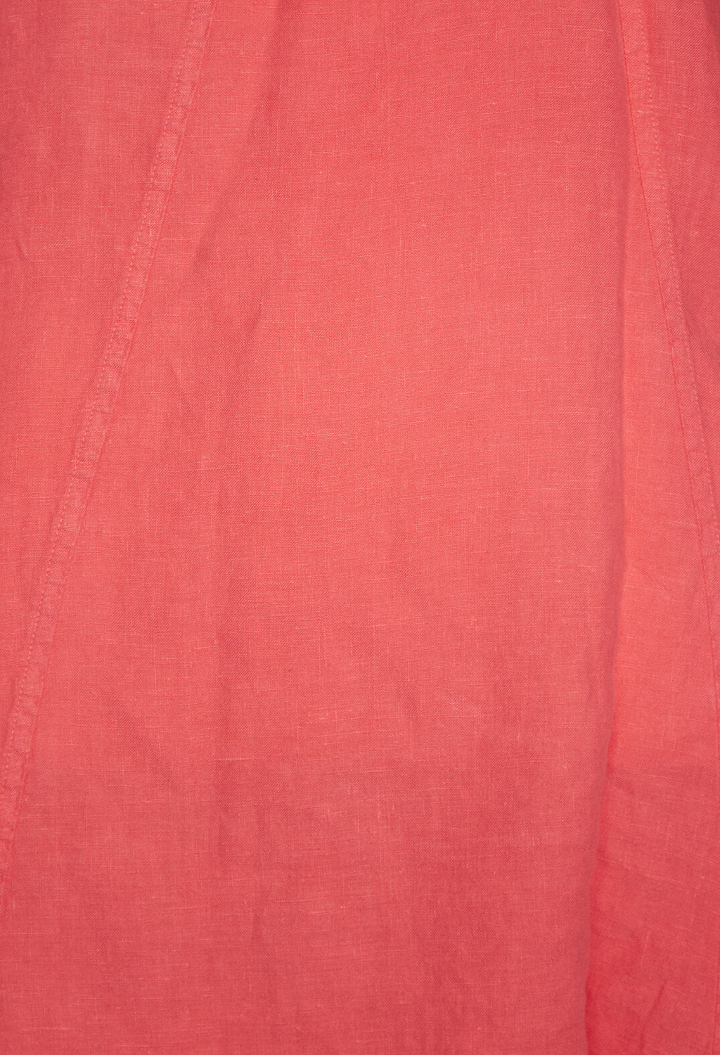 Laura Linen T Shirt in Coral