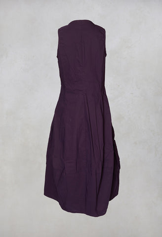 Tulip Dress in Merlot
