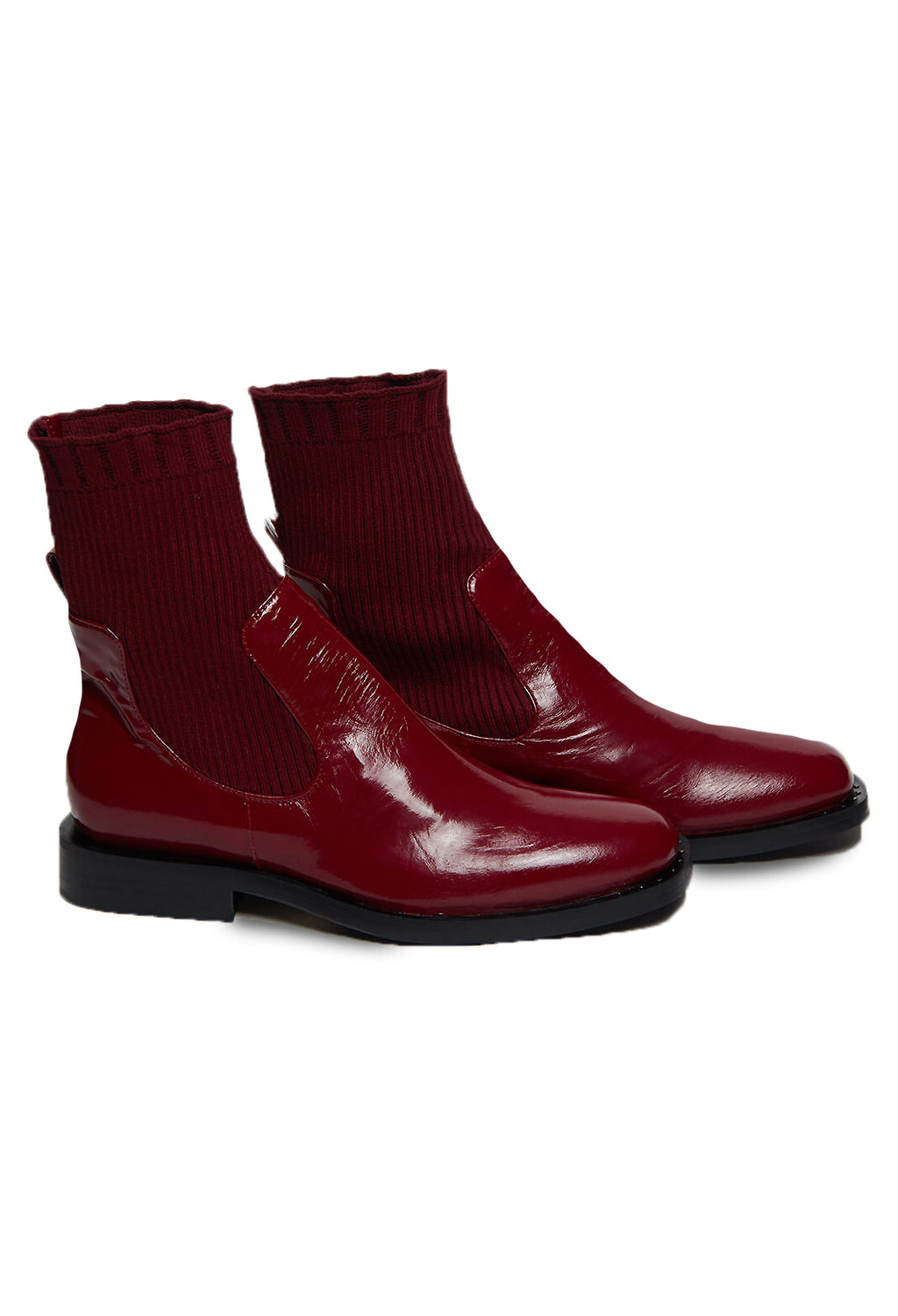 Sock Boots in Bordeaux