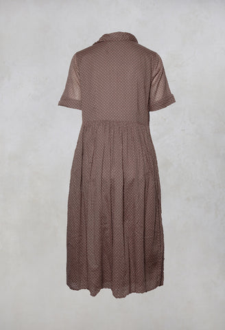 Ambre Smock Dress in Pois