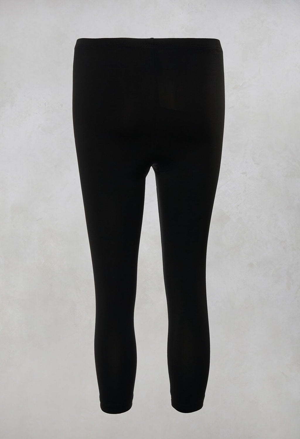 3/4 Leggings in Black