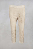 3/4 Trousers in Marble