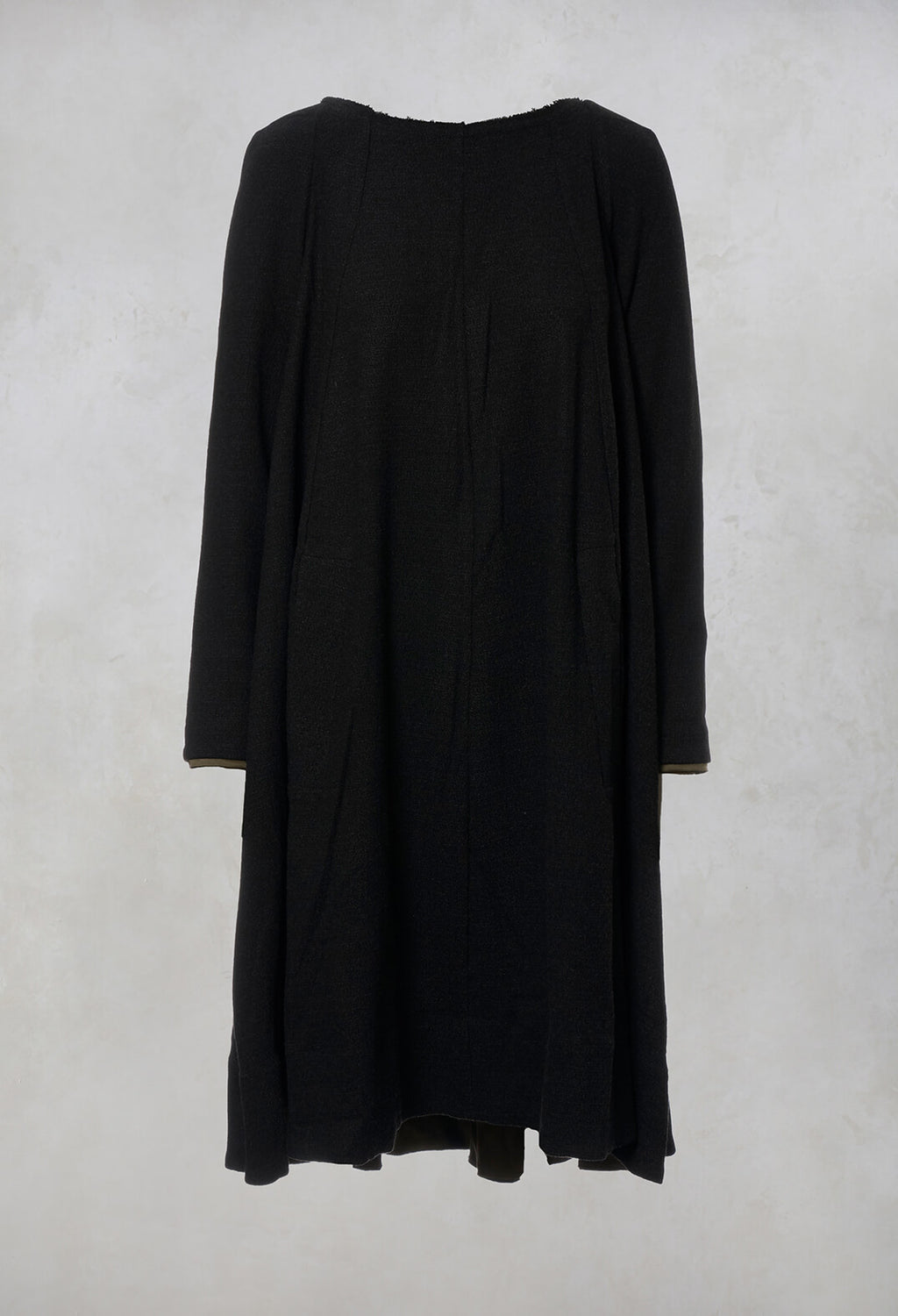 A Line Dress in Anthracite