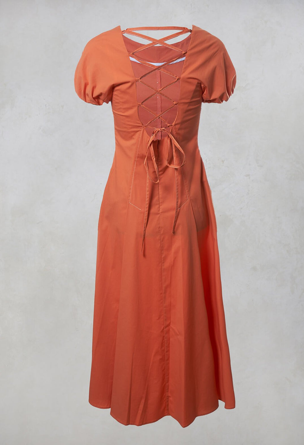 A-Line Dress in Antique Rose