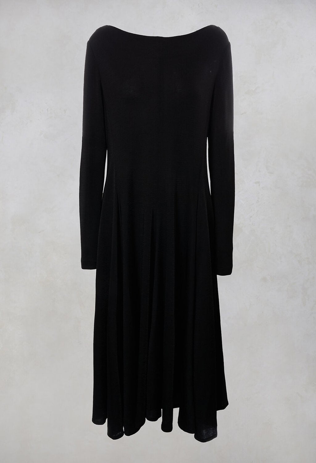 A Line Dress in Black