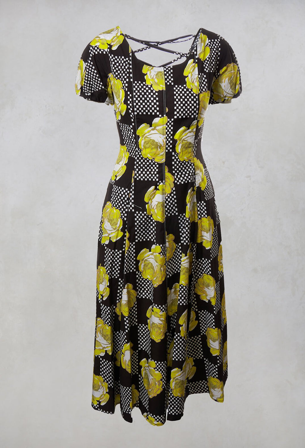 A-Line Dress in Yellow