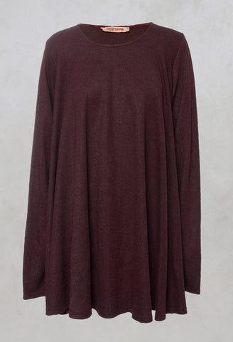 A Line Tunic Top in Hildegard