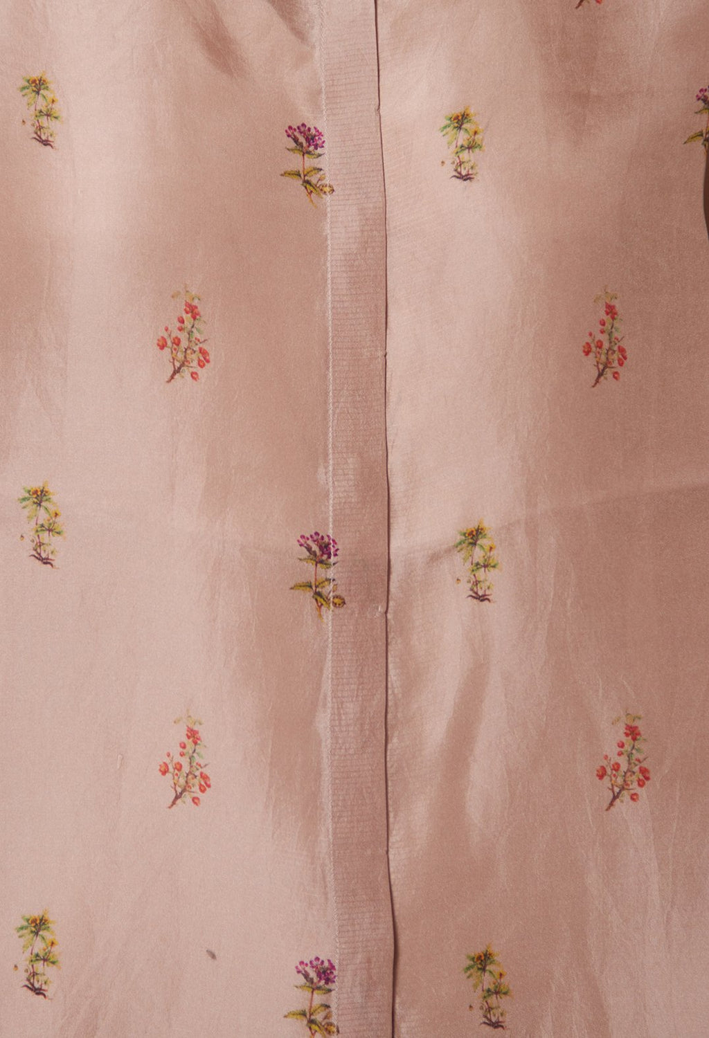 Anna Country Flowers Shirt in Mahogany Rose
