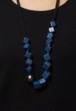 Beaded Necklace in Blue