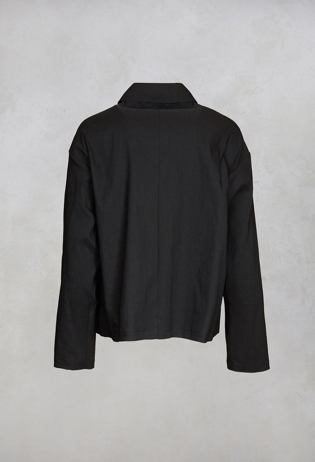Boxy Jacket in Black