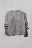 Boxy Jacket in Medium Grey